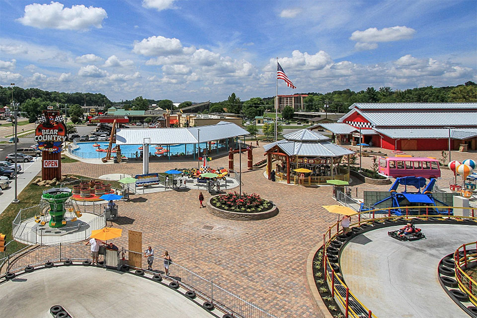 Bear Country Fun Park in Pigeon Forge