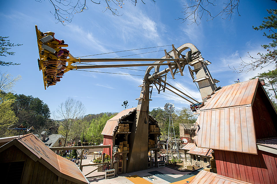 Barnstormer at Dollywood in Pigeon Forge, TN