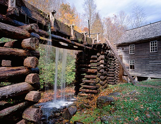 Mingus Mill in the Smoky Mountains