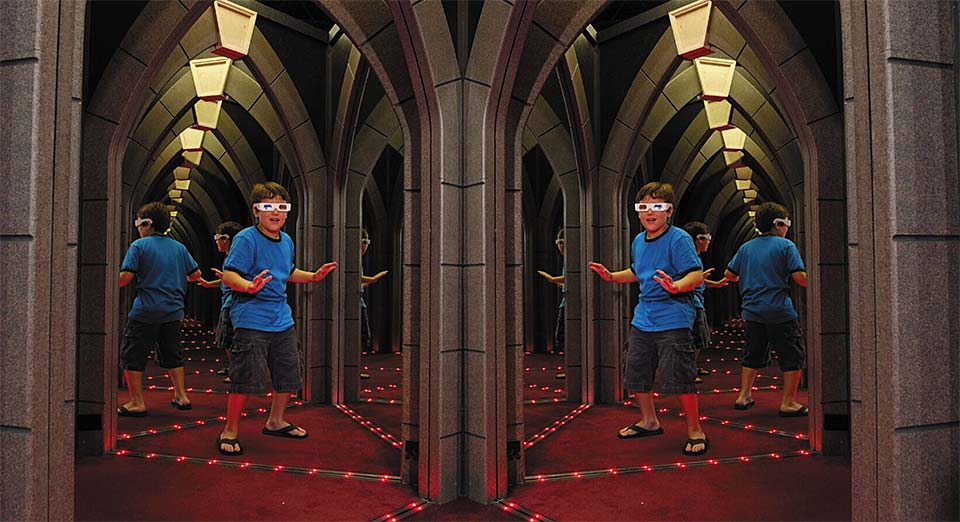 Ripley's Mirror Maze in Gatlinburg, Tennessee