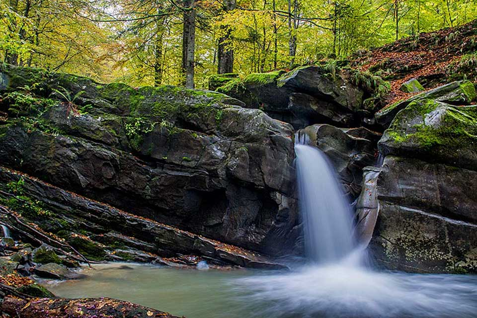 Waterfall in the Smokies will cool you off
